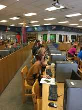 IWitness workshop at Grant County High School in Dry Ridge, Ken.