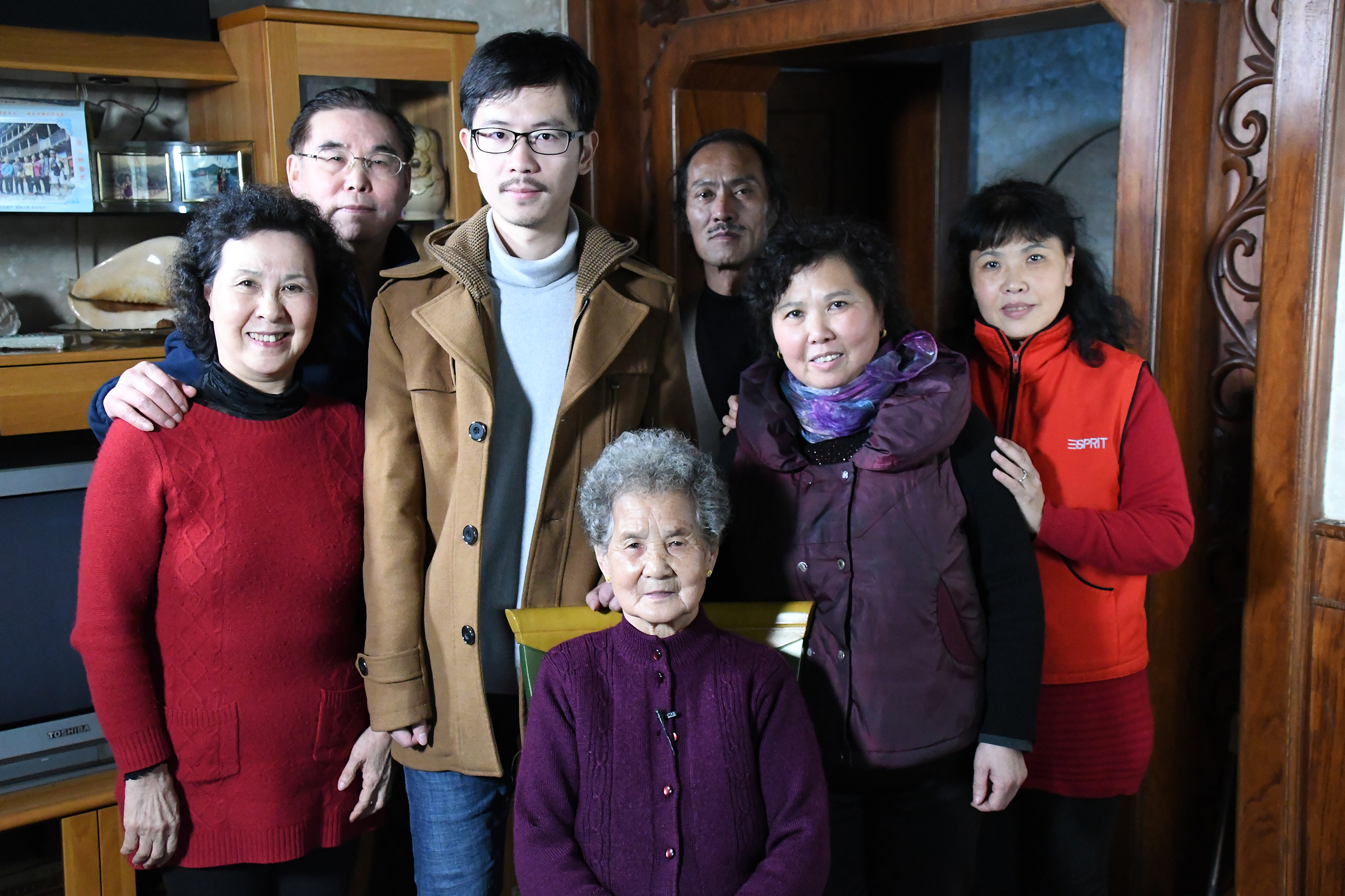 Nanjing Testimony Filming Jan. 2017